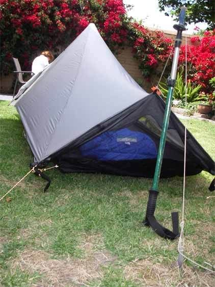 Lightweight Tarp Tent. I want to make one