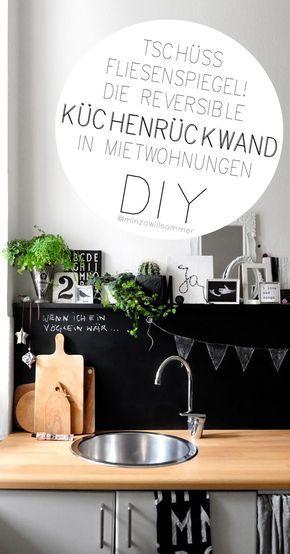 die reversible k chenr ckwand diy m bel fliesenspiegel. Black Bedroom Furniture Sets. Home Design Ideas