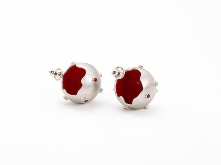Red Sparkles Earrings