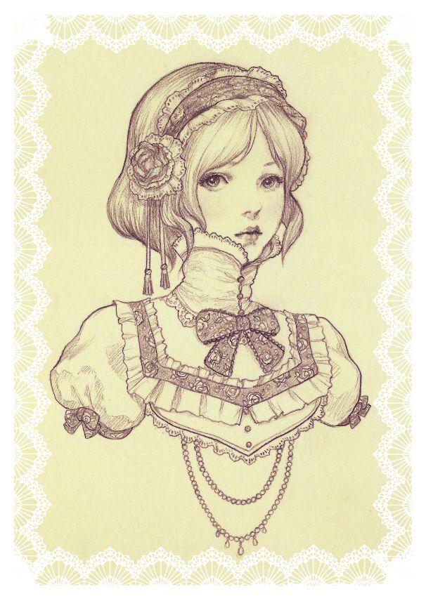 delicate female by JDarnell.deviantart.com on @deviantART