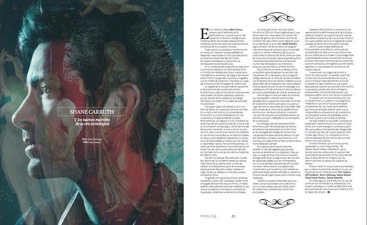 De Culto: Shane Carruth   #ShaneCarruth #PhotoIntervention #Art #renaissance #Magazine #EditorialDesign #Editorial #Faith #Fe #ArtDirection #Marvin #RevistaMarvin