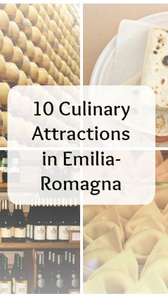 Have you ever wanted to study Italian cuisine? Visit local winaries or learn about production of parmigiano reggiano? Read about 10 amazing culinary attractions in Emilia Romagna (article in Polish. Use translator)