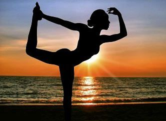 Loving bikram yoga! Finally able to hold this pose!