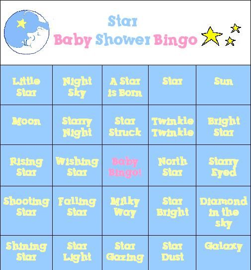 Baby Shower Games   ... Free And Fun Baby Shower Game! Free Printable