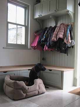 Boot room. dog will need room here