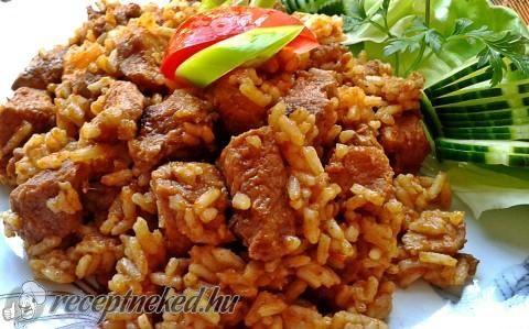 Bácskai rizses hús recept fotóval