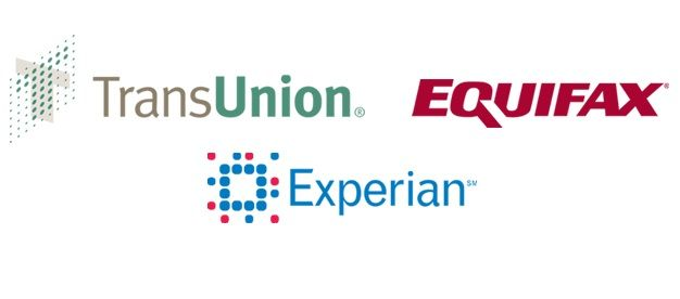The 3 Credit Bureaus (For FreeCreditScore) As you're probably familiar with, there are 3 credit bureaus that calculate your credit scores. The 3 are:   TransUnion  Equifax  Experian  Their credit score calculations differ a bit since the information that they have in each is different