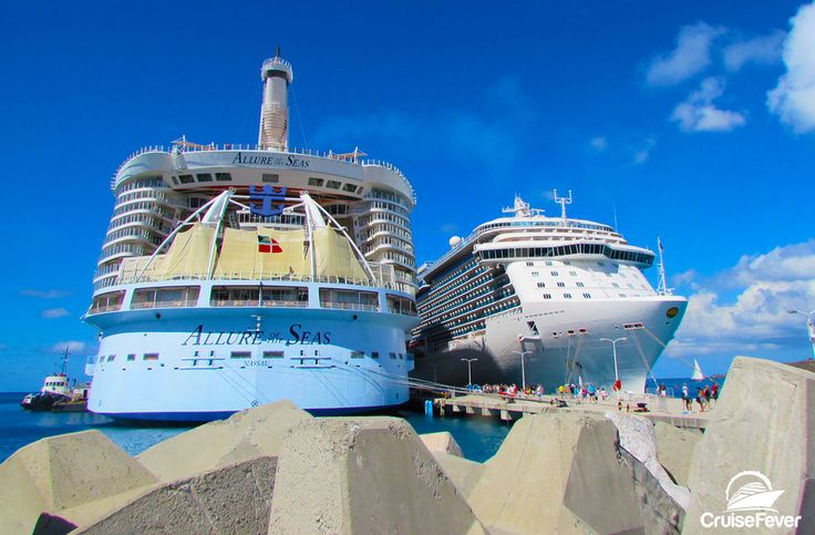 Best cruise ships for cruises to the Caribbean.