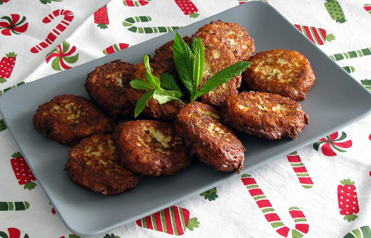 Patatokeftedes traditional dish in Tinos