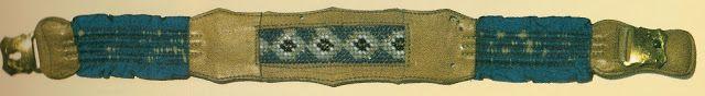 Strumpfband mit Schnalle, um 1840, Hist. Museum Frankfurt