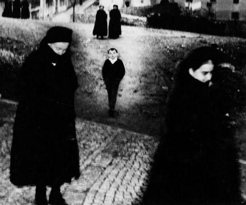 Mario Giacomelli :: Scanno, 1957