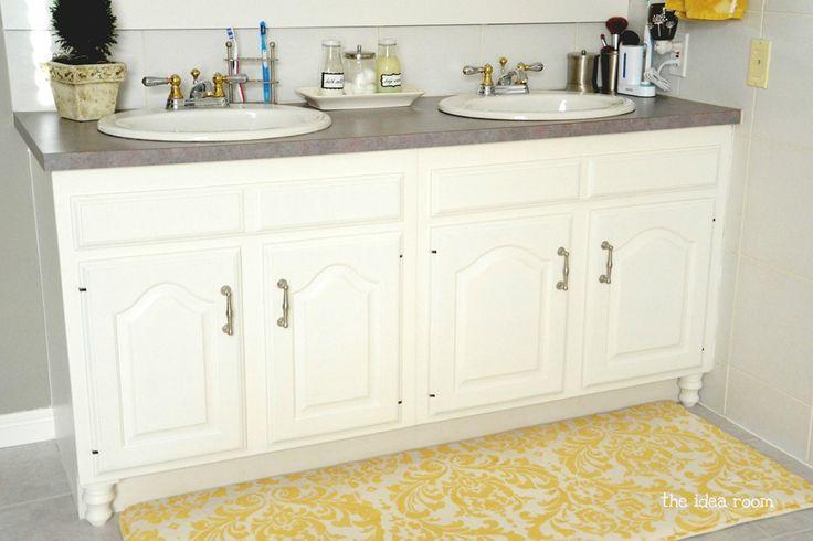 Updating Builder Grade Bathroom Cabinets Builder Grade Bathroom Cabinets And Bath