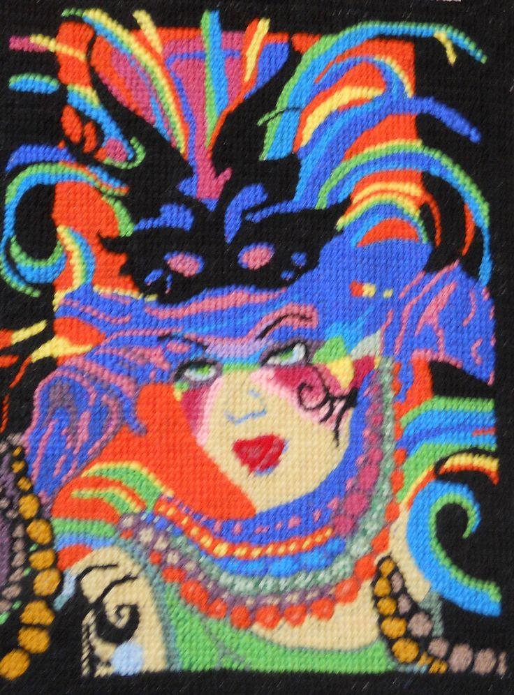 Original needlepoint art created and stitched by Paul Tartanella.  paulcsrr@verizon.net  LTA282