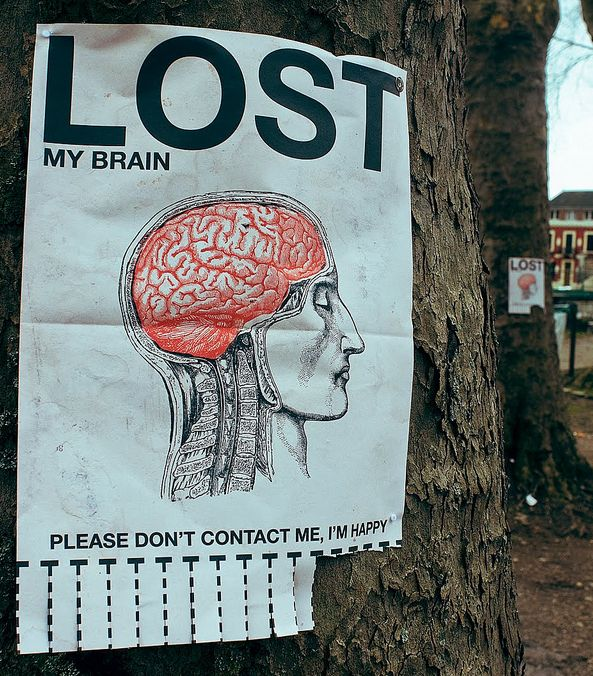 Lost My Brain - Please Don't Contact Me, I'm Happy