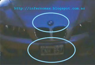Automovil utilizado en la película Más Bien Gustavo Cerati