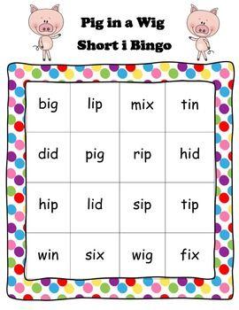 Pig in a Wig short i bingo