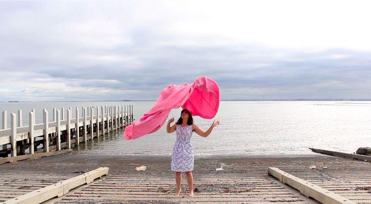 Untitled (pink) 2012. Performance still. Copyright Tania Smith 2013. www.tanialousmith.com