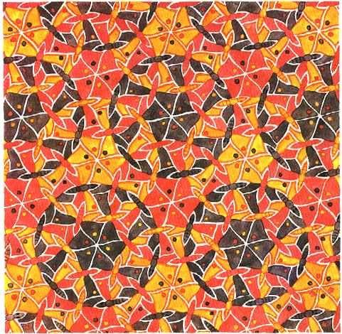 MC Escher tessellations - Google Search