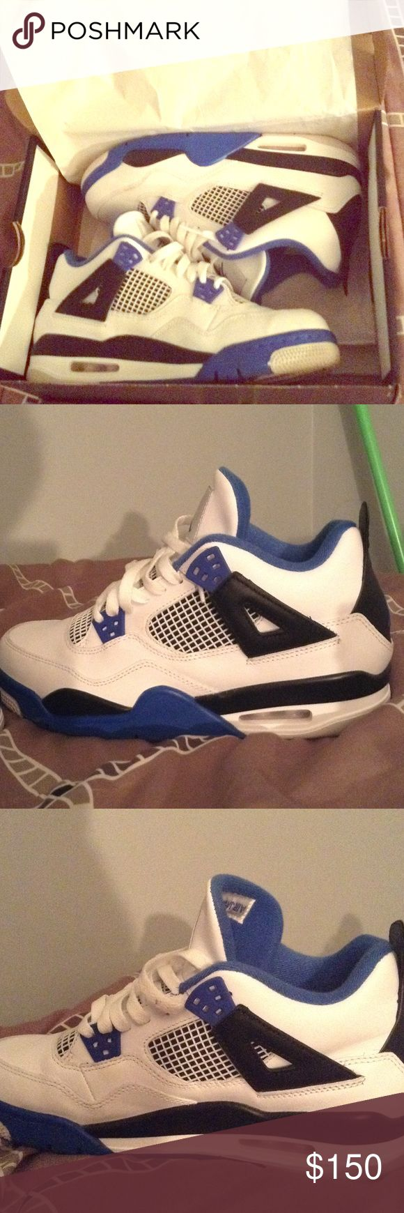Motorsport 4's size 7 9/10 condition worn 3 times looking to trade or buy Jordan Shoes Athletic Shoes
