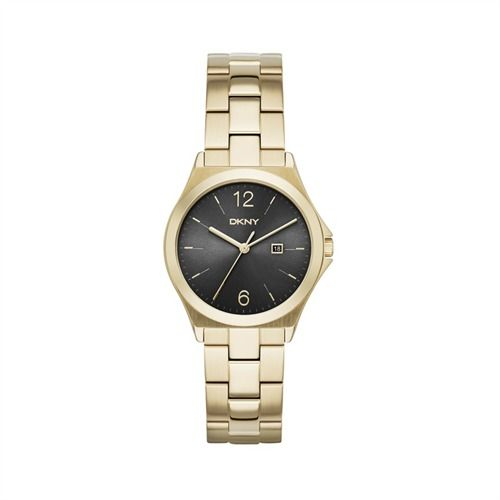 Damenuhr aus vergoldetem Edelstahl von DKNY NY2366 Chronograph für Damen von JOOP JP101502012 https://www.thejewellershop.com/ #damen #uhr #watch #dkny #schmuck #uhren #jewelry #fashion #mode #gold