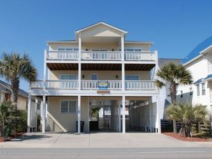 Tradewinds Is An Oceanview Beach House Rental In The Ocean Drive Section Of North Myrtle SC Elliott Rentals Has Been Specializing
