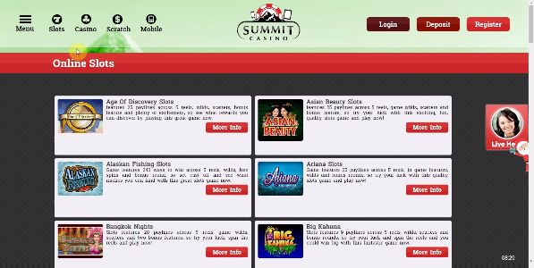 Enjoy Free Online Slots With Bonus Rounds now at Summit Casino and claim a great £10 Free Slots No Deposit bonus to get started playing with at the site now! With a brilliant variety of Online Slots to enjoy at the site, choose your favourites now and get spinning the reels today - https://www.summitcasino.com/online-slots All new registering players at the site get given a completely free £10 Online Slots bonus to enjoy Free Online Slot Games With Bonus Rounds at the site, and that's a…