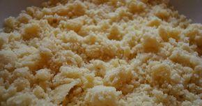 … idealna kruszonka powinna być krucha, lekko chrupiąca i oczywiście słodka. Jest ona nieodłącznym dodatkiem do ciasta drożdżowego, chałek,...