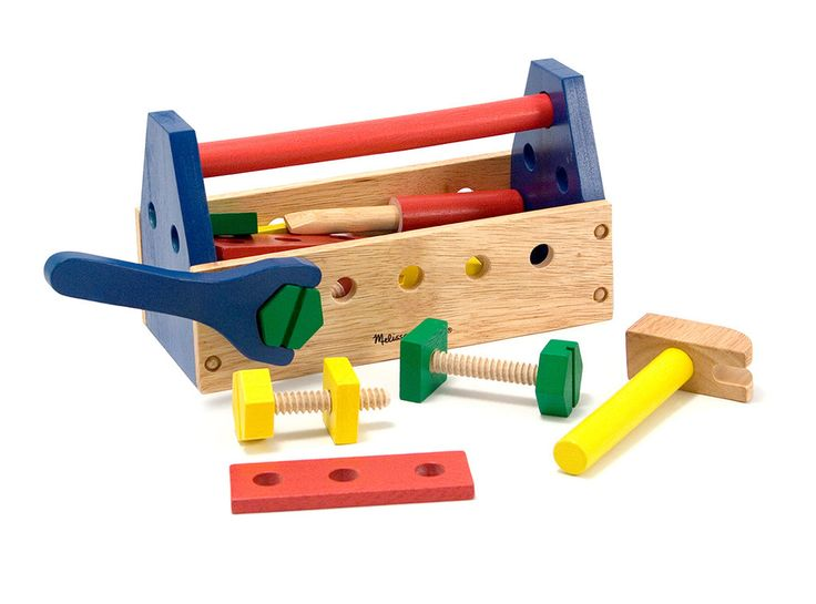 melissa & doug take-along tool kit wooden toy 2