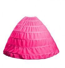 2017 Bal 6 Hoop Petticoat Onderrok Voor Baljurk Trouwjurk Ondergoed Crinoline Bruiloft Accessoires ZHP611(China (Mainland))