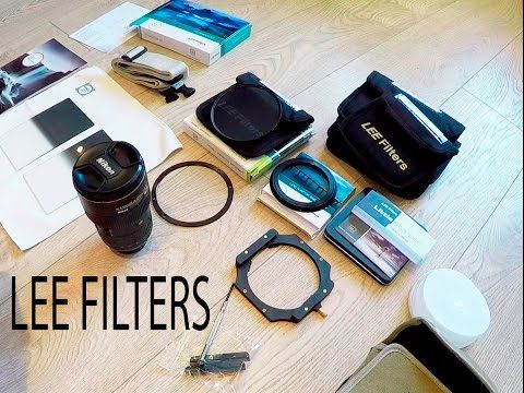 Lee D Filters for landscape photography.