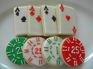 casino cookies so want these for my party