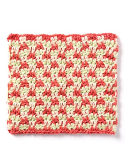 Free Crochet Houndstooth Pattern Featured In Season 9 Of Knit And
