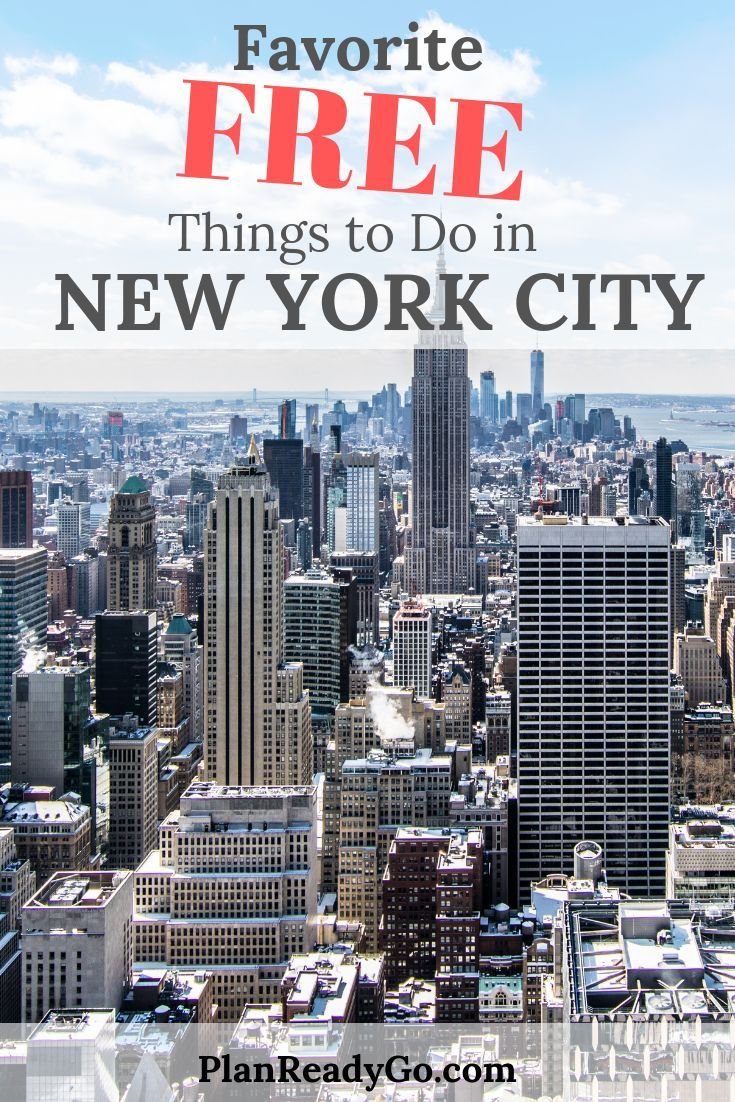 My Favorite Free Things to Do in New York City