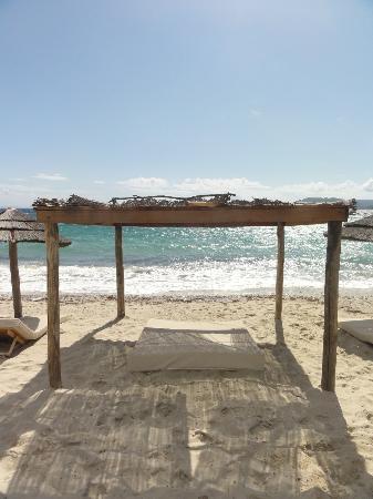 Corsica, France: Quiet beach! Palombaggia Beach, France