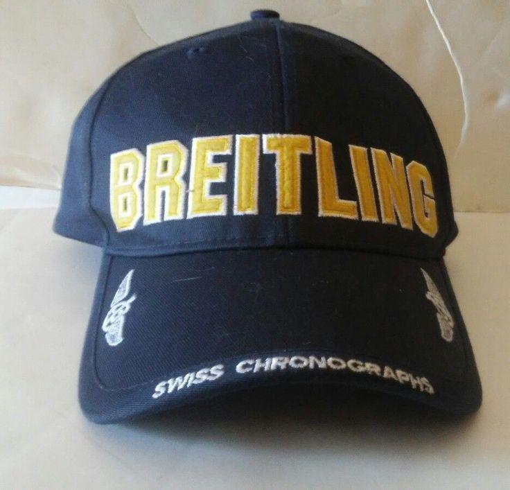 BREITLING Baseball Hat Cap Swiss Cronographs Watck Company | eBay