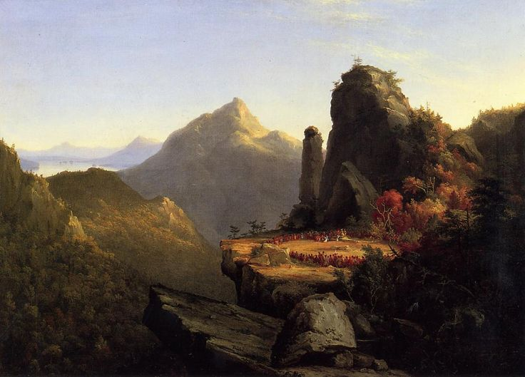 Scene-from-the-last-of-the-mohicans-cora-kneeling-at-the-feet-of-tanemund-1827 - Thomas Cole - Wikipedia, the free encyclopedia