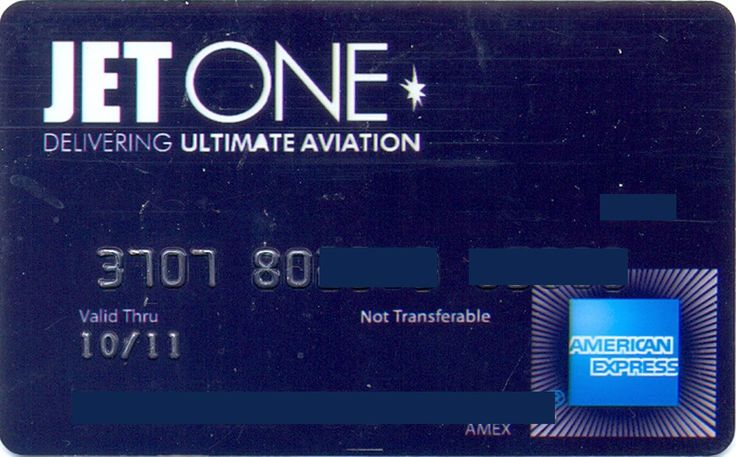 American Express JET ONE (American Express, United States of America) Col:US-AE-0133