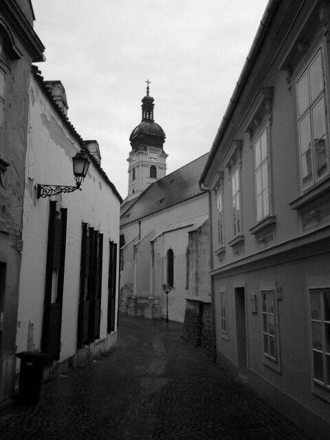 Káptalan domb ,Székesegyház ,Győr.