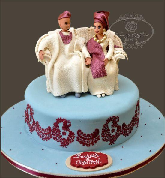 Traditional Nigerian Wedding- Cake