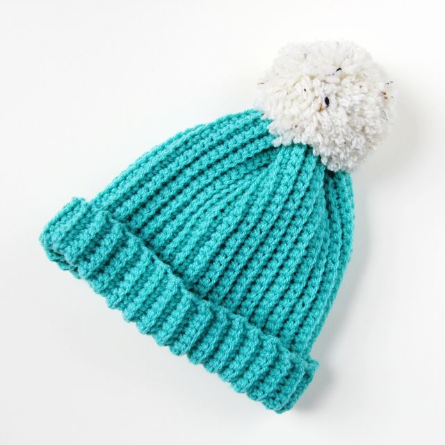 Free Crochet Pattern Baby Pom Pom Hat : 17 Best images about Yarn Stuffs on Pinterest How to ...