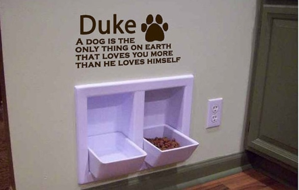 Dog Food Bowl House Cool Smart My Future House Pinterest