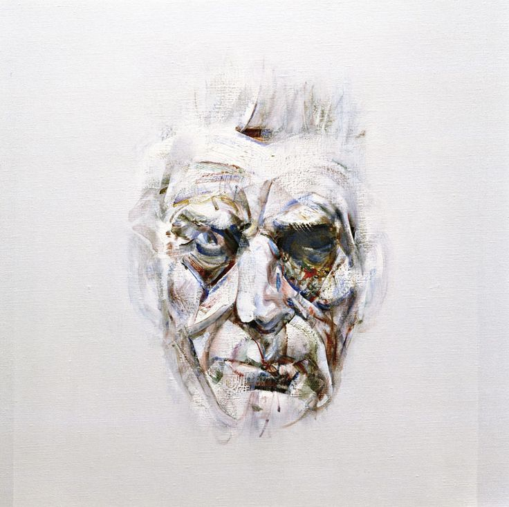 Samuel Beckett  by Louis le Brocquy probably my favourite portrait ever.