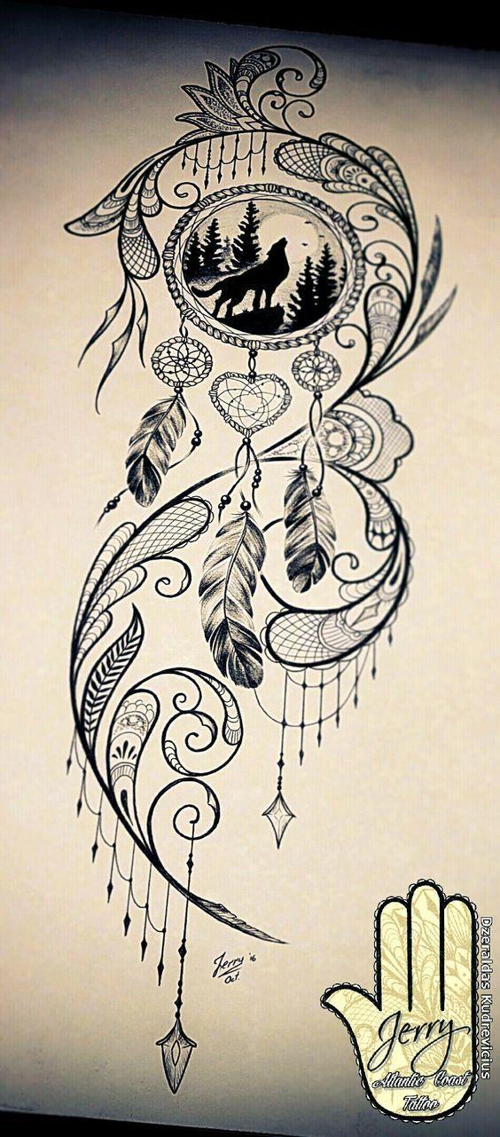 Amazing Dreamcatcher Tattoos #tattoosforwomenquotes