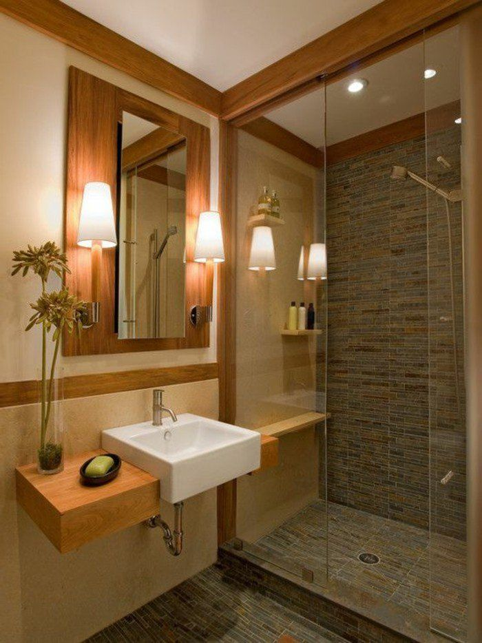 34 best salle de bains images on Pinterest Home decor, Bath and - image carrelage salle de bain