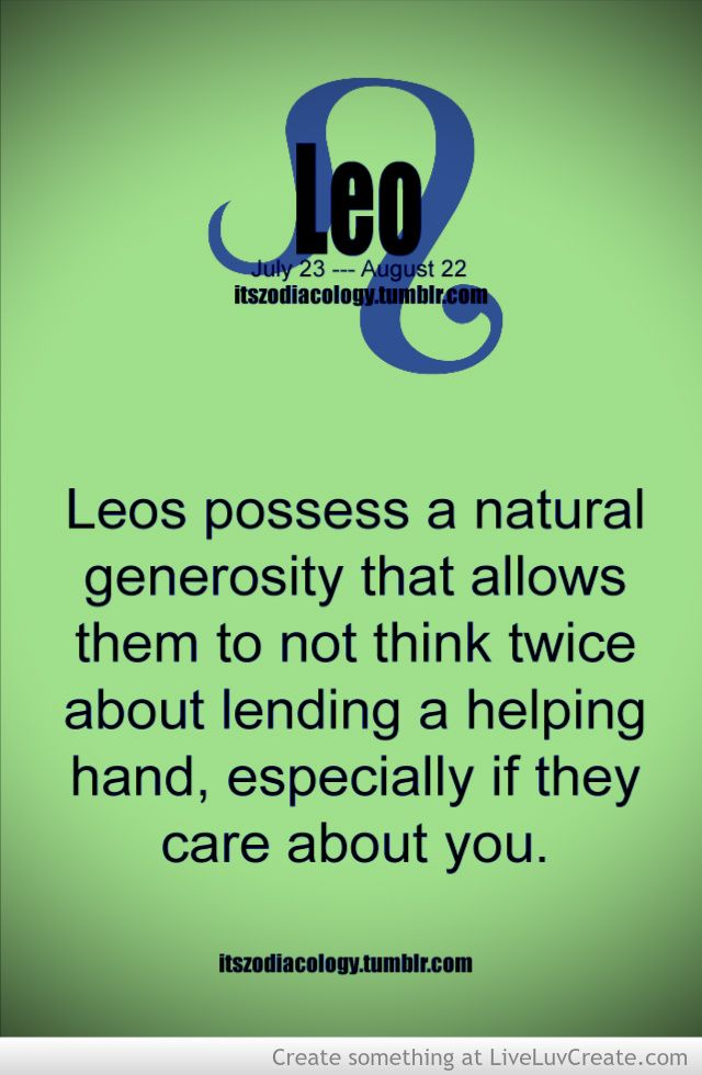 Zodiac Facts Of Leo Picture by WePost - Inspiring Photo