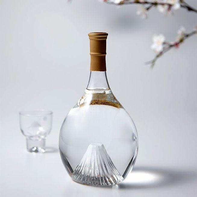 富士の酒 飛竜乗雲 本格米焼酎(風呂敷:桜ピンク)