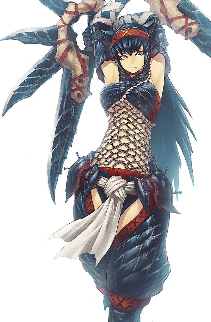 Female Nargacuga Armor                                                                                                                                                                                 More