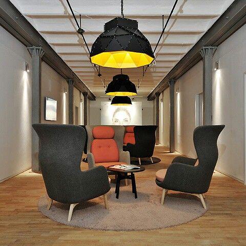 Apollo Black&gold by Romy Kühne Design at Goldbeck medical center in Hamburg, Germany