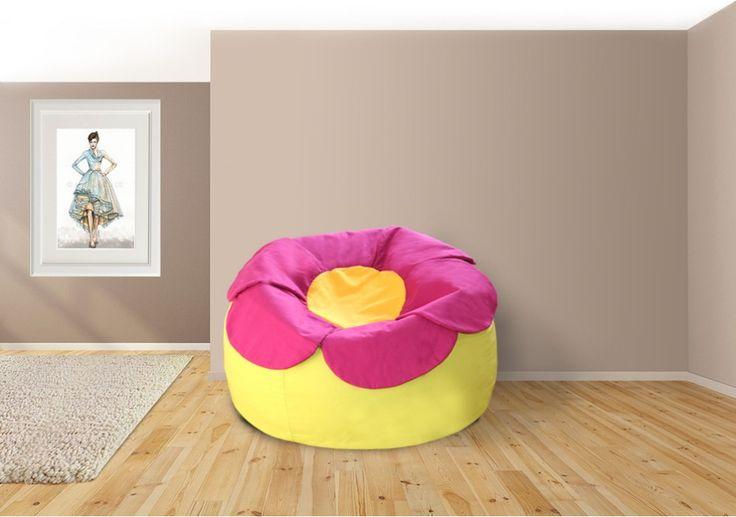 Small Flowee Babzsák  #beanbag #babzsákfotel #babzsák #design #interior #style