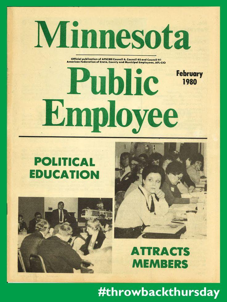 Minnesota Public Employee publication circa 1980.